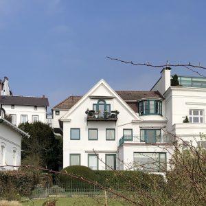 Historisches Wohnhaus 1870 an der Elbe Villa Elbblick Treppenviertel