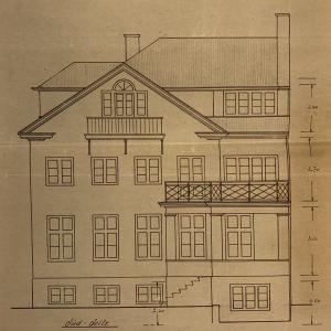 Historisches Wohnhaus 1870 an der Elbe Villa Elbblick Treppenviertel Vorderseite