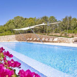 Mallorca Villa ALQUERIA BLANCA - NEUBAUFINCA MEERBLICK Pool Sonnendeck
