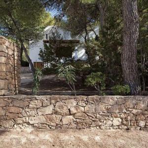 Formentera Ibiza Villa Auffahrt