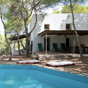 Formentera Ibiza Villa Pool Sonnendeck
