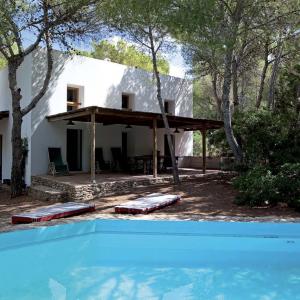 Formentera Ibiza Villa Pool Terrasse