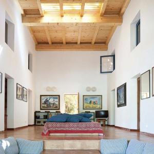 Formentera Ibiza Villa Wohnzimmer Loft