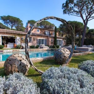 Villa Saint-Tropez Ramatuelle Landsitz Cote d`Azur Ferienhaus Pool Garten Terrasse Lounge