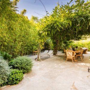 La Cachette Villa Saint-Tropez Garten Terrasse