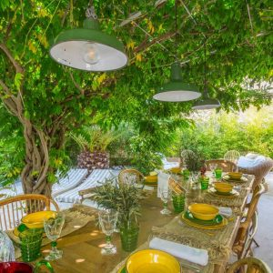 La Cachette Villa Saint-Tropez Garten
