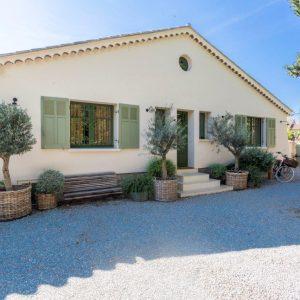 La Cachette Villa Saint-Tropez Auffahrt