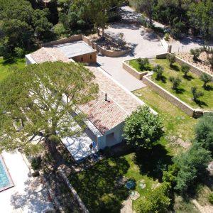 Villa Saint-Tropez Ramatuelle Landsitz Cote d`Azur Neubau Grundstück
