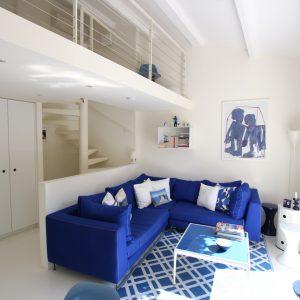 Fischerhaus Saint-Tropez Cote d`Azur Ferienwohnung Wohnzimmer Galerie