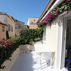 Fischerhaus Saint-Tropez Cote d`Azur Ferienwohnung Terrasse