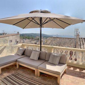 Apartment Saint-Tropez Cote d`Azur Ferienwohnung Terrasse