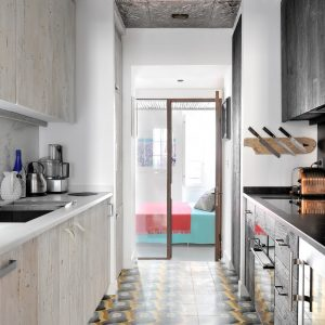 Apartment Loft Saint-Tropez Cote d`Azur Ferienwohnung Küche Kochen