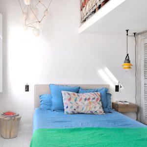 Apartment Loft Saint-Tropez Cote d`Azur Ferienwohnung Schlafen