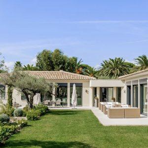 Les Parcs de Saint-Tropez Modern Terrasse