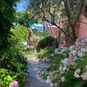Sommerhaus Saint-Tropez - Garten