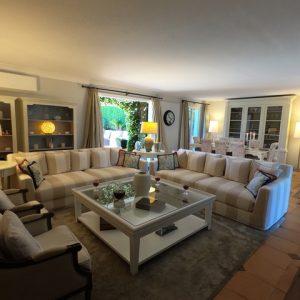 Private Domain Saint-Tropez Wohnbereich