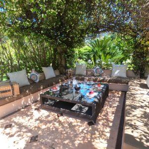 Private Domain Saint-Tropez Schattenterrasse