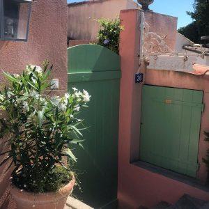 Sommerhaus Saint-Tropez - Eingang