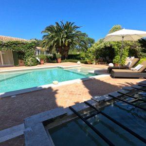 Private Domain Saint-Tropez Pool + Brunnen