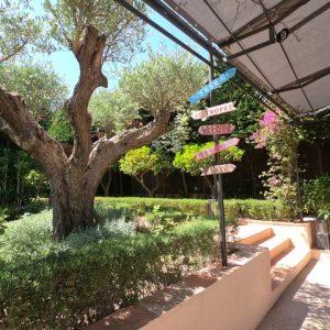 Private Domain Saint-Tropez Gartendetails