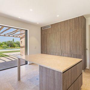 Private Domain Saint-Tropez Küche mit Terrasse