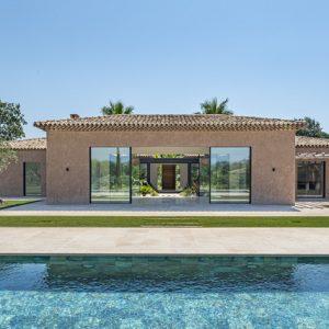 Private Domain Saint-Tropez Garten Pool