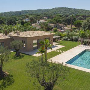 Private Domain Saint-Tropez Garten Haus Landschaft