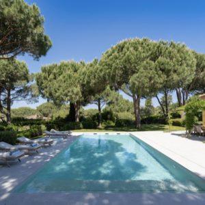 Saint-Tropez Villa Pool Garten