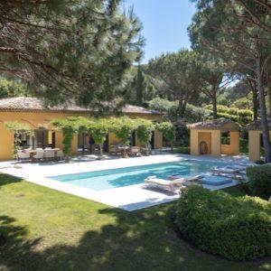 Saint-Tropez Villa Pool Garten Terrasse