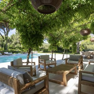 Saint-Tropez Villa Pool Garten Terrasse Lounge
