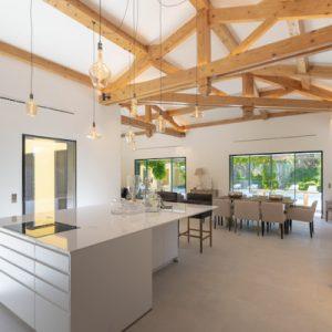 Saint-Tropez Villa Küche Essen