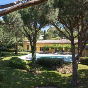 Saint-Tropez Villa Garten