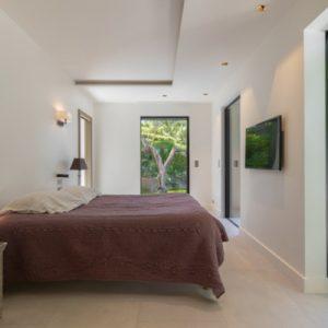 Saint-Tropez Villa Schlafzimmer mit Bad-Ensuite